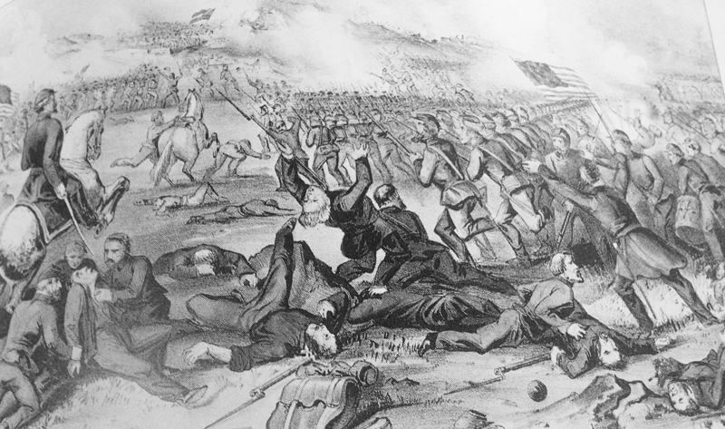 Battle of Fredericksburg 1862