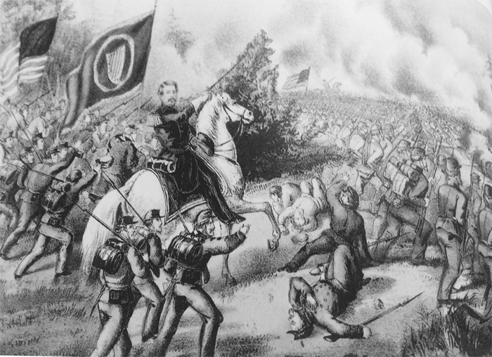Battle of Fair Oaks 1862