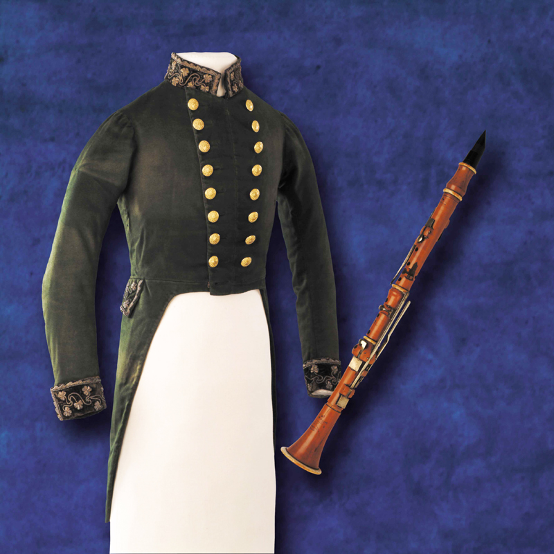 TF Meagher coatee & clarinet